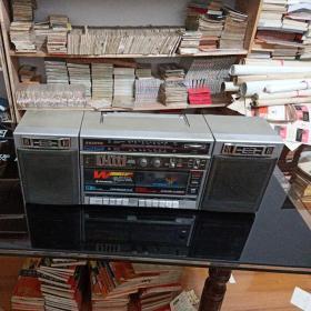 日本SANYO《三洋》收录机,老式三用录音机。  不通电 售后不退不议