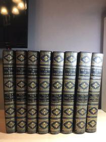 1935年 The Book of Knowledge 八册全 半皮精装 彩图