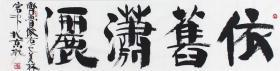 韩美林书法