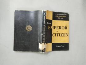 从皇帝到公民 我的前半生(From Emperor to Citizen)下册