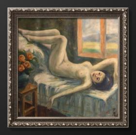 沙耆|布面 油画 人物