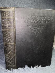 1927年  THE STORY OF PHILOSOPHY  BY WILL DURANT PH.D. 21X14CM