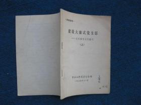 建设大寨式党支部——农村整党试用教材(上)