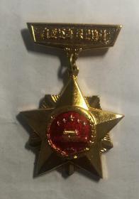 自卫反击纪念章。