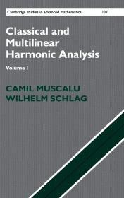 现货 Classical and Multilinear Harmonic Analysis: Volume 1 (Cambridge Studies in Advanced Mathematics)  英文原版 古典和多线性谐波分析:第1卷(高等数学中的剑桥研究)