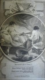 1795年 Ovids Epistles《奥维德书简诗选》全小牛皮烫金豪华装桢 增补插图 品相上佳