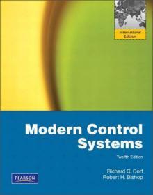 Modern Control Systems, 12th Edition 英文原版