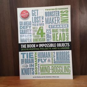 Klutz The Book of Impossible Objects: 25 Eye-Popping Projects to Make, See & Do Craft Kit