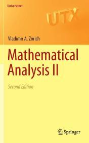现货 Mathematical Analysis II: 1 (Universitext) 英文原版 数学分析