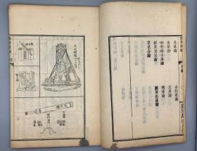 博物新编 二集1册全 (英国)合信 撰 日本元治元年(1864)刊本 【内含大量西学版画】