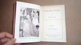 1902 Emily Bronte- Wuthering Heights -《呼啸山庄》珍贵Buckland插图本初版本 品相上佳