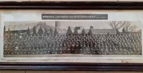 刘*,周恩来,邓*,彭真等领导接见工程兵第二届积代会合影