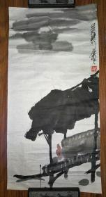 保真书画:吴齐(当代著名画家、中国书画研究院北京创作院名誉院长)国画(货号:SH003)