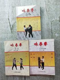 咏春拳+咏春拳(续一)+咏春拳(续二) 三本和售
