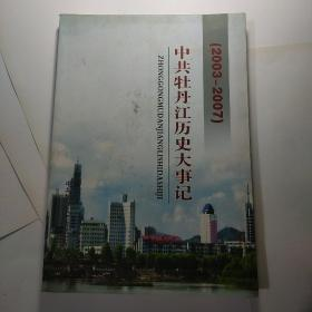中共牡丹江历史大事记2003-2007