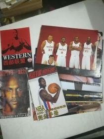 篮球明星海报16张