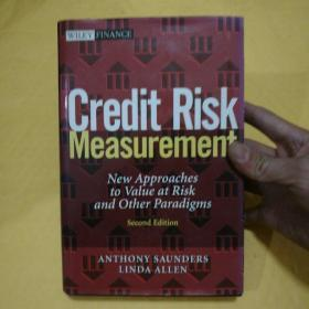 Credit Risk Measurement: New Approaches to Value at Risk and Other Paradigms【信用风险度量:风险价值的新方法和其他范例】