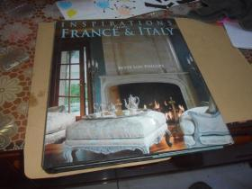 Inspirations from France & Italy (大12开 精装 英文原版)