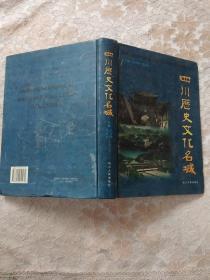 四川历史文化名城(精)一版一印(正版)内页干净