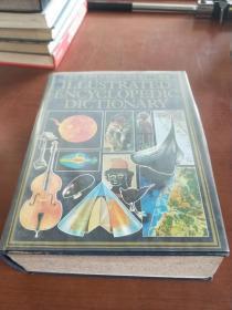 WEBSTERS ILLUSTRATED ENCYCLOPEDIC DICTIONARY    韦伯斯特插图百科词典(1990年版,精装巨厚册,大16开,书重3.85公斤)