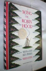 The Song of Robin Hood (精装大16开原版外文书)