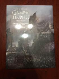 权力的游戏艺术画册 英国版The Art of Game of Thrones, the official book of design from Season 1 to Season 8