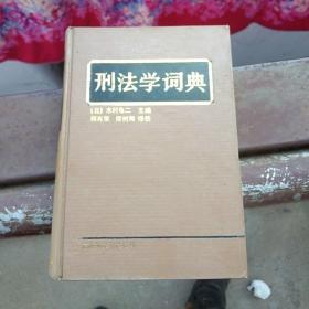 刑法学词典
