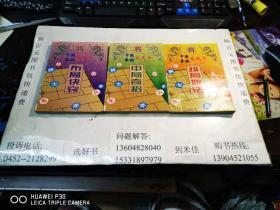 中国象棋龙虎斗:中局奇招、布局诀窍、排局妙法  3本合售 包邮挂费