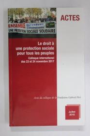 法文原版 行动-人人享有社会保护的权利ACTESLe droit à une protection sociale pour tous les peuples