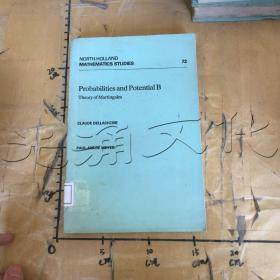 Probabilities and Potential B. Theory of Martingales