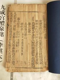 明万历刻本《千金翼方》一厚册全,共54个筒子页108面,大字精栞,墨色浓正。