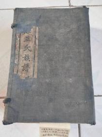 东原王氏族谱(一函六册)