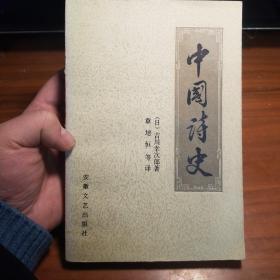 中国诗史(一版一印)品相好