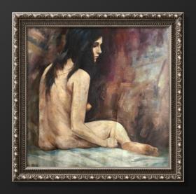 吕斯百|1962年作 布面油画 人物