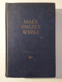 """Karl Marx, Friedrich Engels Werke, Bd. 26, Erster Teil, Theorien über den Mehrwert, Vierter Band des """" Kapitals"""": Erster Teil, Erster bis siebentes Kapitel und Beilagen"""