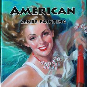 吉尔·埃尔夫格兰绘美国插画American Genre Painting
