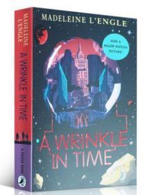 时间的皱折 英文原版书 A Wrinkle in Time 迪斯尼动画时间的皱纹