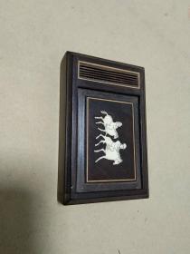 金铃子  红木盒