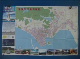 2020汕尾指南地图   区域图   城区图   对开地图