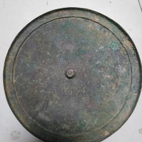 明代素面大铜镜,个头挺大,但份量不算重,胎体比较薄,保真包老售出不退。