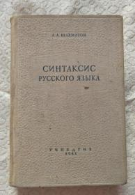 СИНТАКСИС РУССКОГО ЯЗЫКА(俄语句法)
