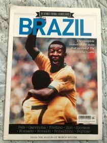 原版足球画册 巴西国家队世界杯故事