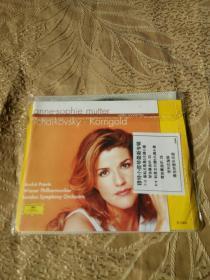 穆特小提琴最新专辑普列文指挥维也纳爱乐乐团CD【光盘测试过售出概不退换】
