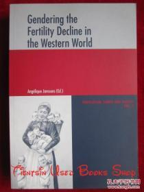 Gendering the Fertility Decline in the Western World(英语原版 平装本)西方世界生育率下降的性别分析
