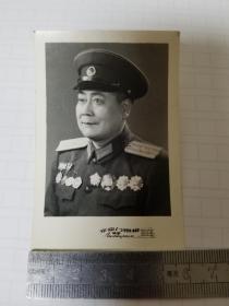 白锡纯少将?签赠照片
