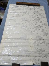 民国木板书画老纸。74/51