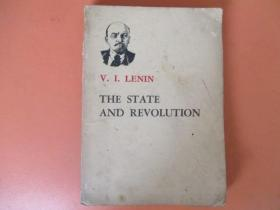 列宁国家与革命【外文版】