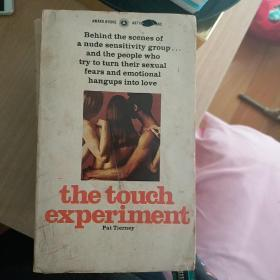 英文原版官能 the touch experiment
