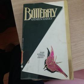 英文原版 butterfly