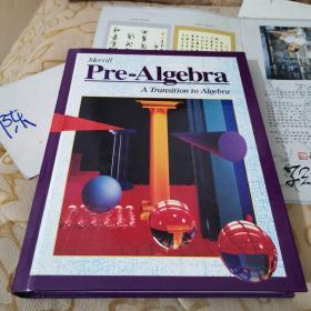 Merrill Pre-Algebra A Transition to Algebra